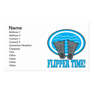Flipper Time Business Card