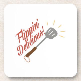 Flippin Delicious Beverage Coaster