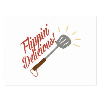 Flippin Delicious Postcard