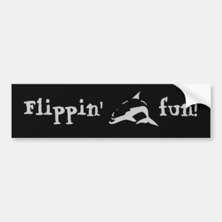 Flippin' fun! bumper sticker