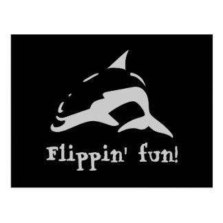 Flippin' fun! postcard