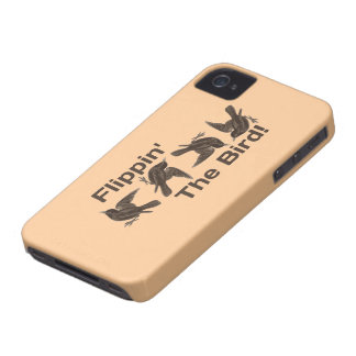 Flippin' The Bird iPhone 4 Case-Mate Case