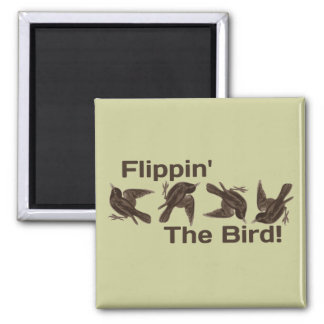 Flipping the Bird Magnets