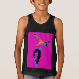 """Flipping the Deck"" Skateboarding Stunt Tank Top"