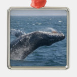 Flipping the Whale Christmas Ornaments
