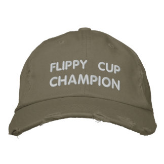 Flippy Cup Champion Embroidered Baseball Cap