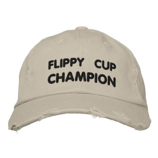 Flippy Cup Champion Embroidered Hat