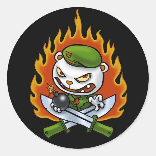 Flippy Flame Tattoo Sticker
