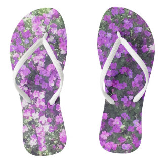 FLIPPY FLOPS! - PRETTY PURPLE PEDALS FLIP FLOPS