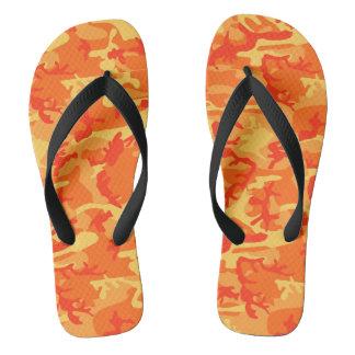 Flips-flopes anaranjados de Camo
