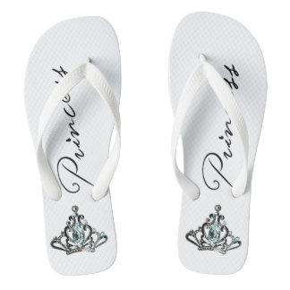 """Flips-flopes de la """"princesa"""" TIARA"""
