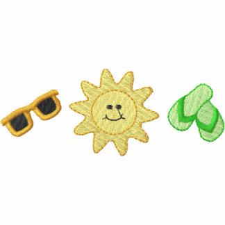 Flips-flopes de las gafas de sol de Sun/