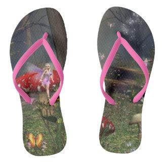 Flips-flopes del bosque de hadas