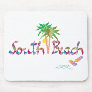 Flips-flopes del sur de Miami de la playa Tapete De Raton