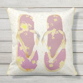 Flips-flopes del verano (el rosa/el almohada