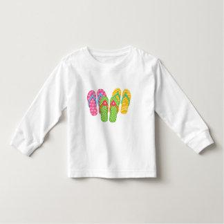 Flips-flopes del verano tshirts