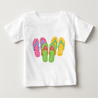 Flips-flopes del verano t-shirts
