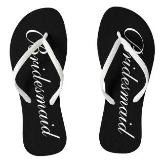 Flips-flopes elegantes del boda de playa para las
