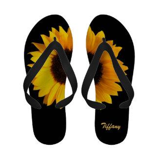 Flips-flopes imponentes del personalizado del gira sandalias de playa