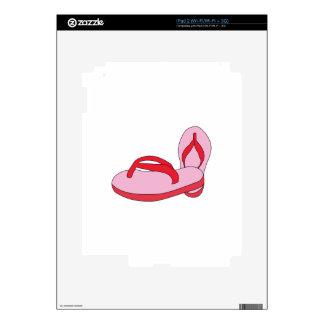 Flips-flopes iPad 2 Calcomanías
