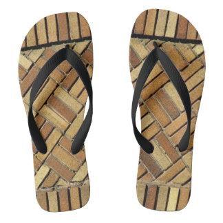 Flips-flopes - ladrillos modelados