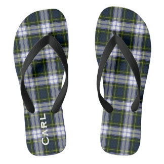 Flips-flopes personalizados tela escocesa del