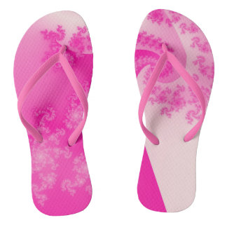 Flips-flopes rosados del fractal