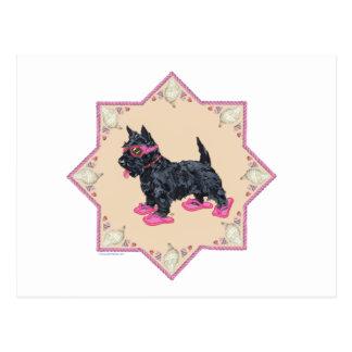 Flips-flopes rosados postales