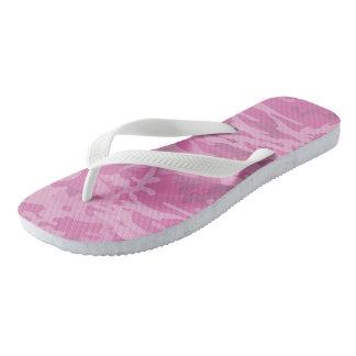 Flips-flopes rosas claros femeninos de Camo