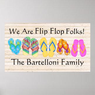 Flips-flopes - SRF Póster