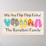 Flips-flopes - SRF Posters