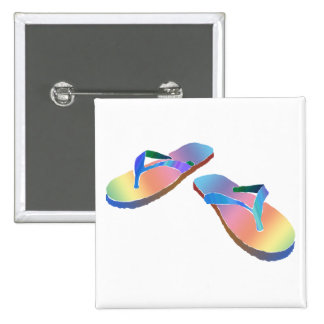 Flips-flopes tropicales 2 pin cuadrado