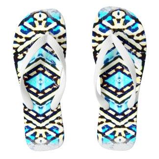 Flips-flopes urbanos azules 1 del estilo de NU uno