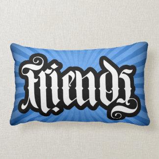 FlipScript Ambigram Lumbar Pillow