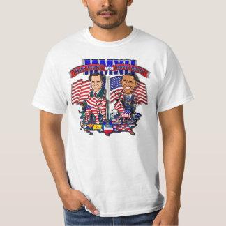 Flipy Flopy vs Hopey Hope Romney Obama 2012 Satire T-Shirt