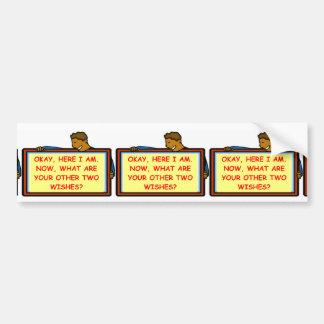 flirt car bumper sticker