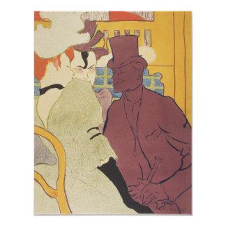 Flirt by Henri de Toulouse-Lautrec Card