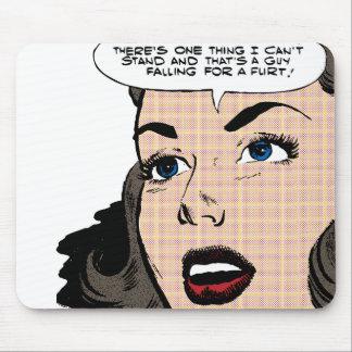 Flirt! Mouse Pad