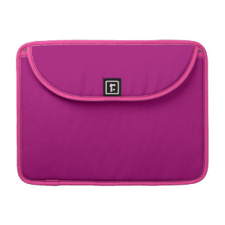 Flirt Purple Background MacBook Pro Sleeve