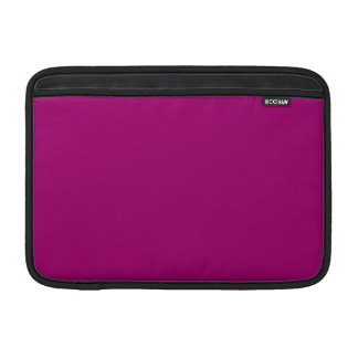 Flirt Purple Background Sleeve For MacBook Air