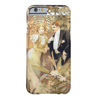 Flirt vintage Mucha Barely There iPhone 6 Case