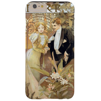 Flirt vintage Mucha Barely There iPhone 6 Plus Case