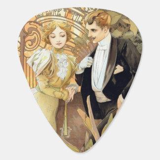 Flirt vintage Mucha guitar pick