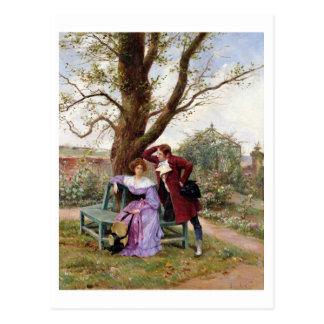 Flirtation Postcard