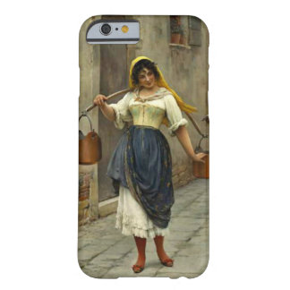 Flirtatious Milkmaid 1890 Barely There iPhone 6 Case