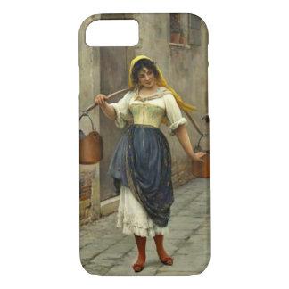 Flirtatious Milkmaid 1890 iPhone 7 Case
