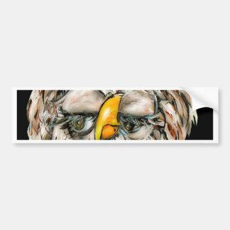 Flirtatious Owl Bumper Sticker