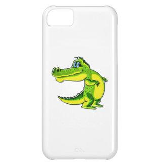 Flirting Crocodile Cover For iPhone 5C
