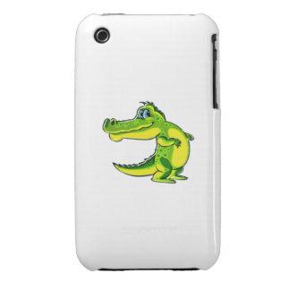 Flirting Crocodile iPhone 3 Cover