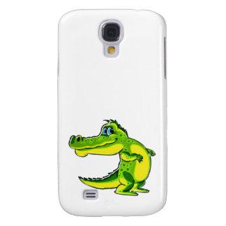 Flirting Crocodile Samsung Galaxy S4 Covers